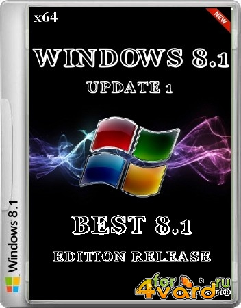 Windows 8.1 Update 1 BEST 8.1 Edition Release + Русский пакет локализации (x64/RUS/2014)
