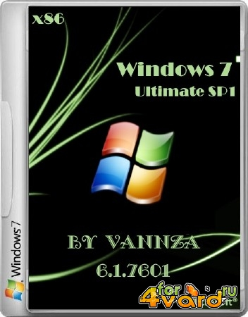 Windows 7 Ultimate SP1 by Vannza (x86/2014/RUS)