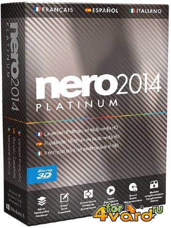 Nero 2014 Platinum 15.0.07700 Final RePack by KpoJIuK