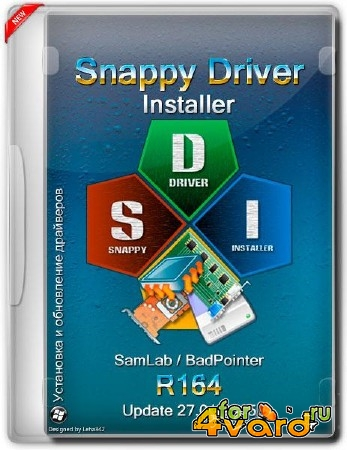 Snappy Driver Installer R164 (ML/RUS/2015)