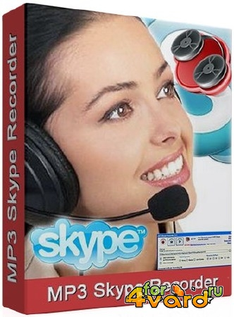 MP3 Skype Recorder 4.21 + Portable