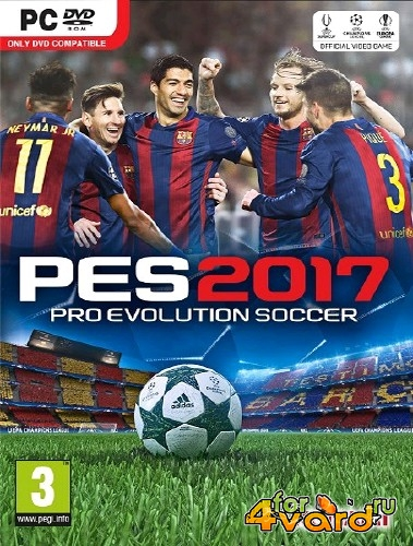 PES 2017 / Pro Evolution Soccer 2017 SMoKE Patch (2016/Rus/Eng/PC) RePack от xatab