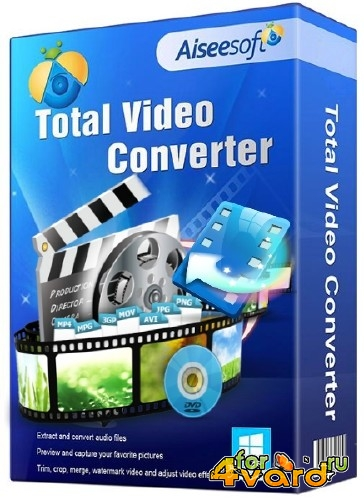 Aiseesoft Total Video Converter 9.2.18 (2017/Rus/Eng) RePack by вовава