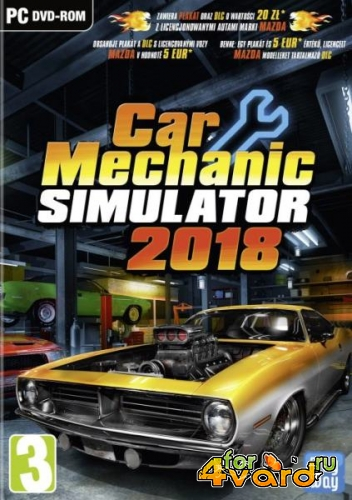 Car Mechanic Simulator 2018 v 1.2.1 + 2 DLC (2017/Rus/Multi12/PC) RePack от xatab