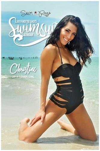 Hottie Shots Swimsuit - Calendar 2019
